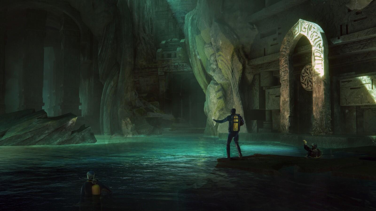 Temple Dive