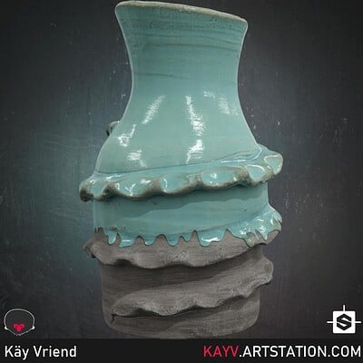 Kay vriend glazed ceramic alt