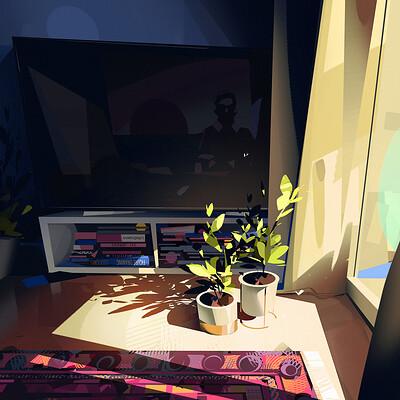 Michal sawtyruk sketch 141 sunlight study