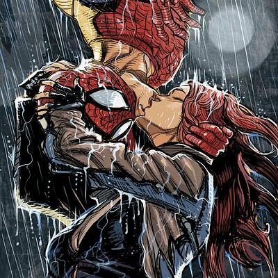 Daniele afferni daf daniele afferni daf kissing spiderman maryjane