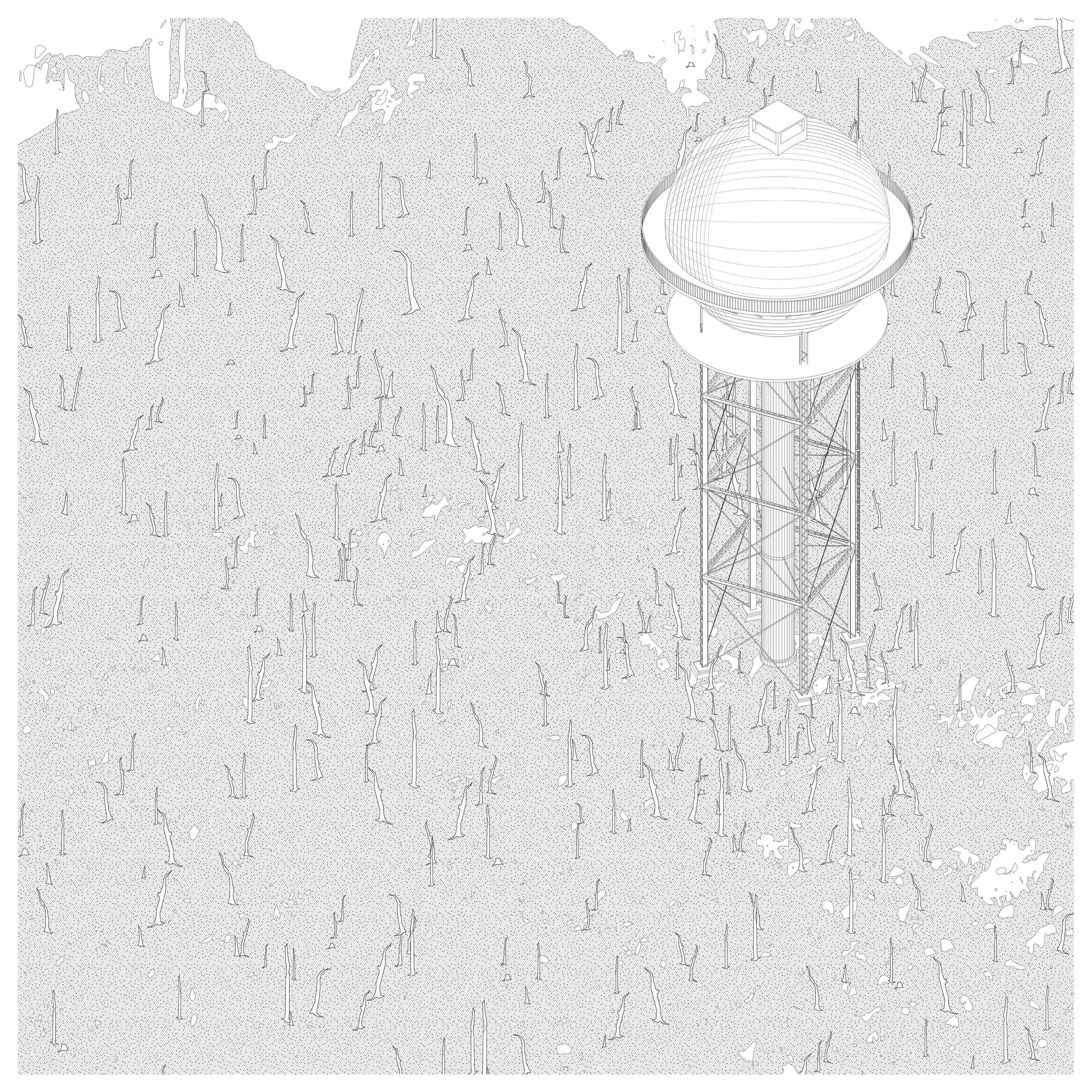 Concept Image - Dead Forest Tower