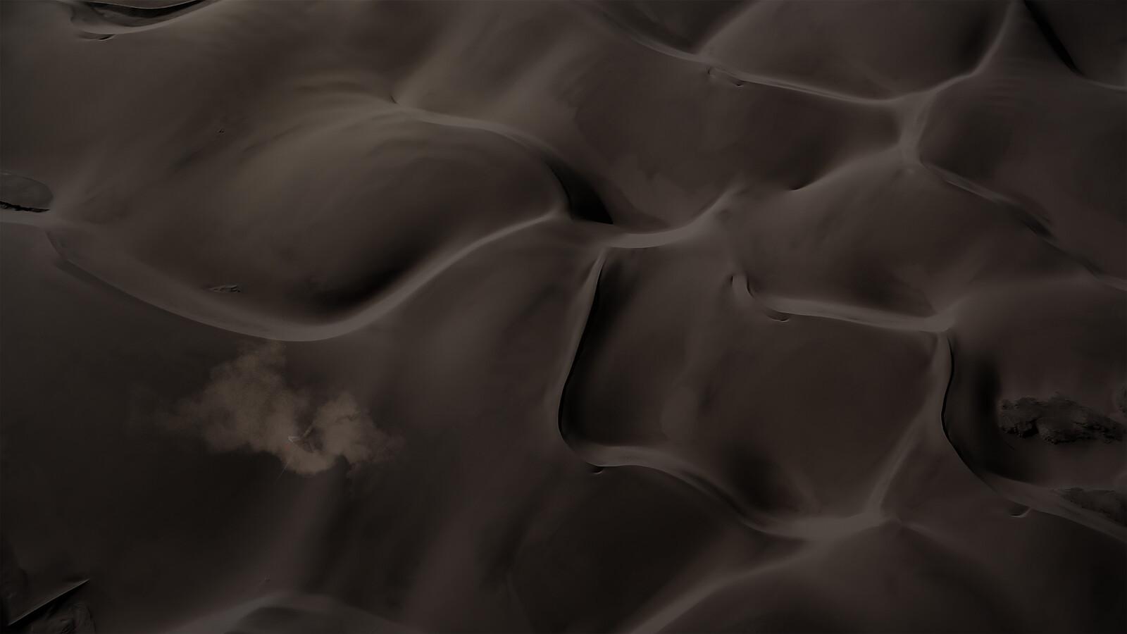 Desert concept image Aerial