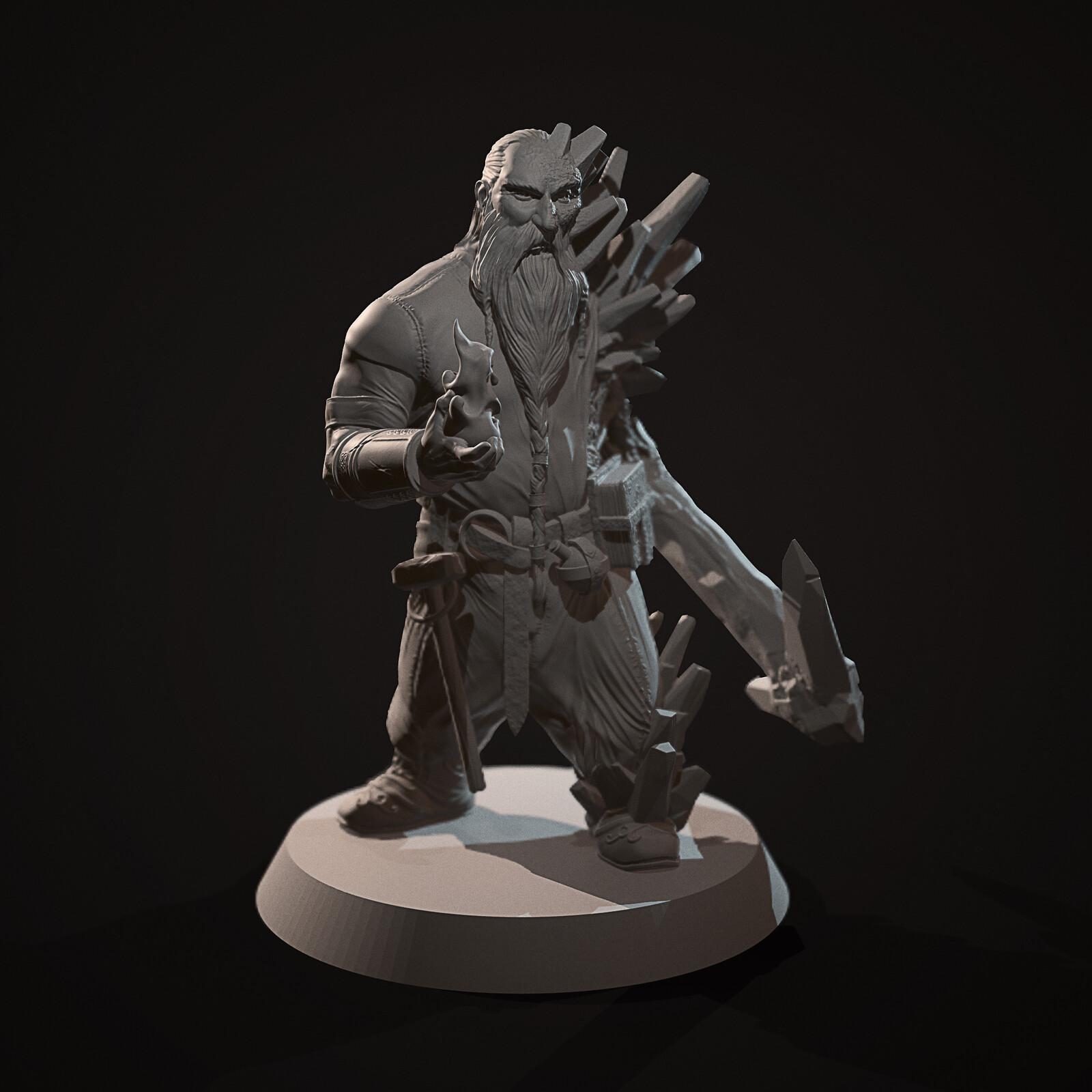 Ulfgar - 3d miniature