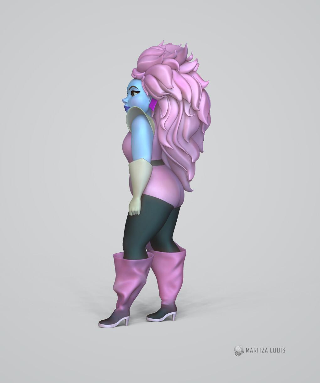 80's glam Villain Sculpt