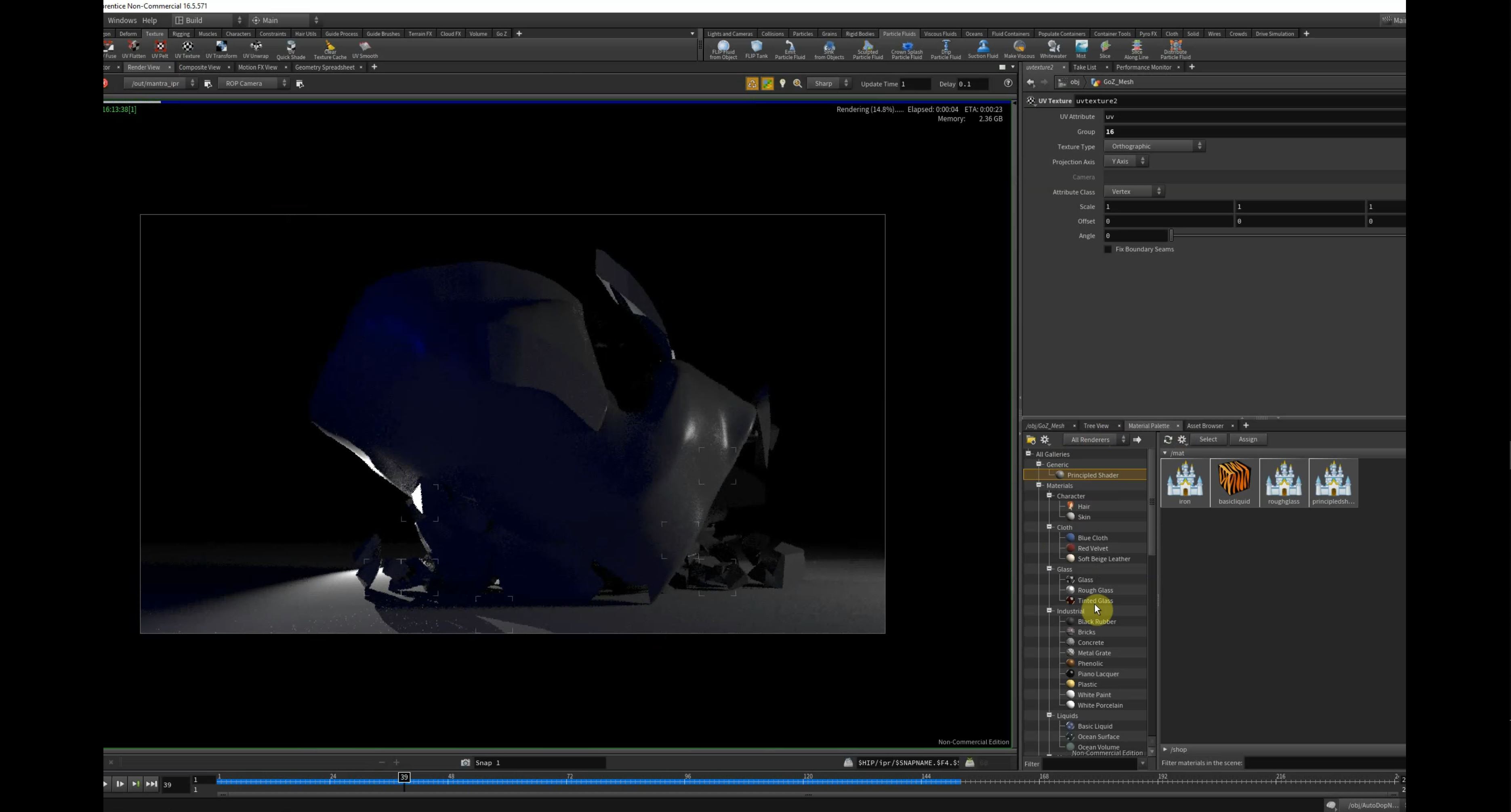 Finalizing for export from Houdini as JPG/PNG frames to composite & export w/ AfterEffects