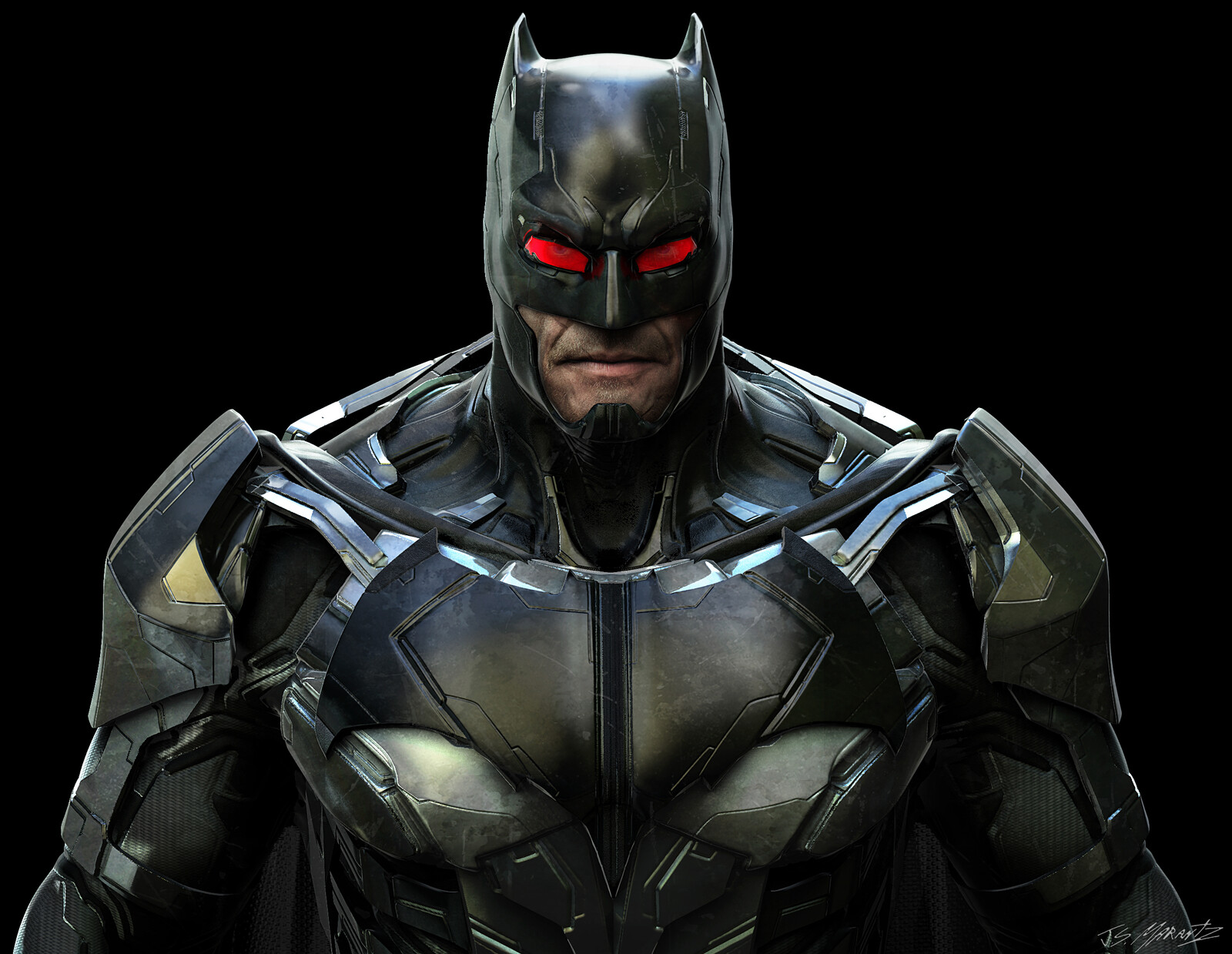 BATMAN DESIGN for a Cancelled GAME
