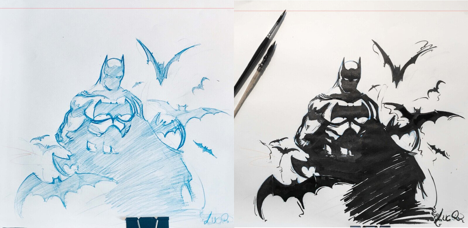 Batman, DCU  Ink