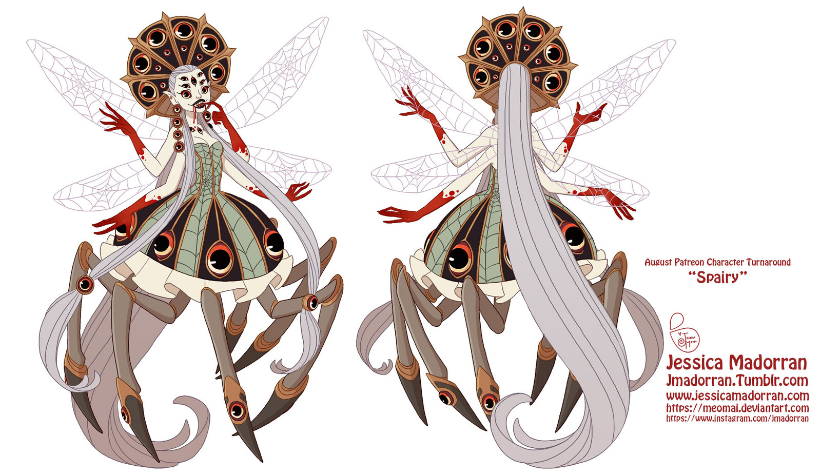 Patreon - Character Design - Spairy