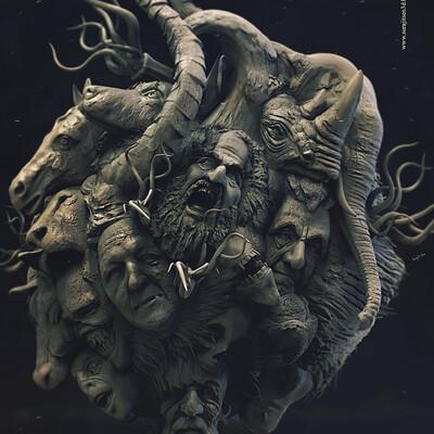 Surajit sen primordial2 1 digital sculpture surajitsen aug2020aa