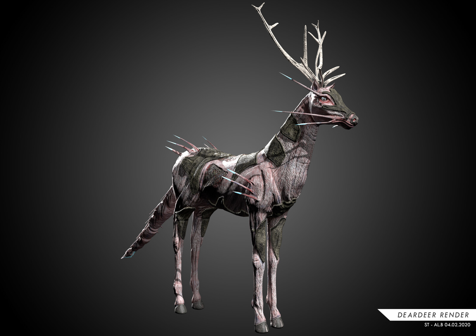 DEAR DEER Game Creature 2020
