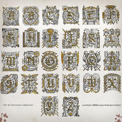 Francesca baerald fbaerald illuminatedletters avengingson blacklibrary
