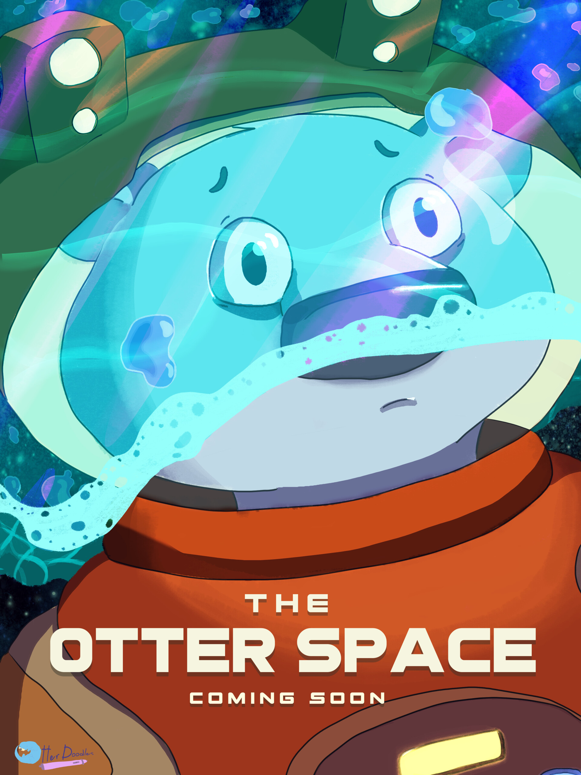 Submerged: The Otter Space Poster
