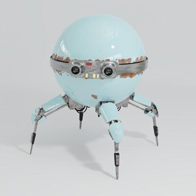 Taliesin river old ball robot smaller