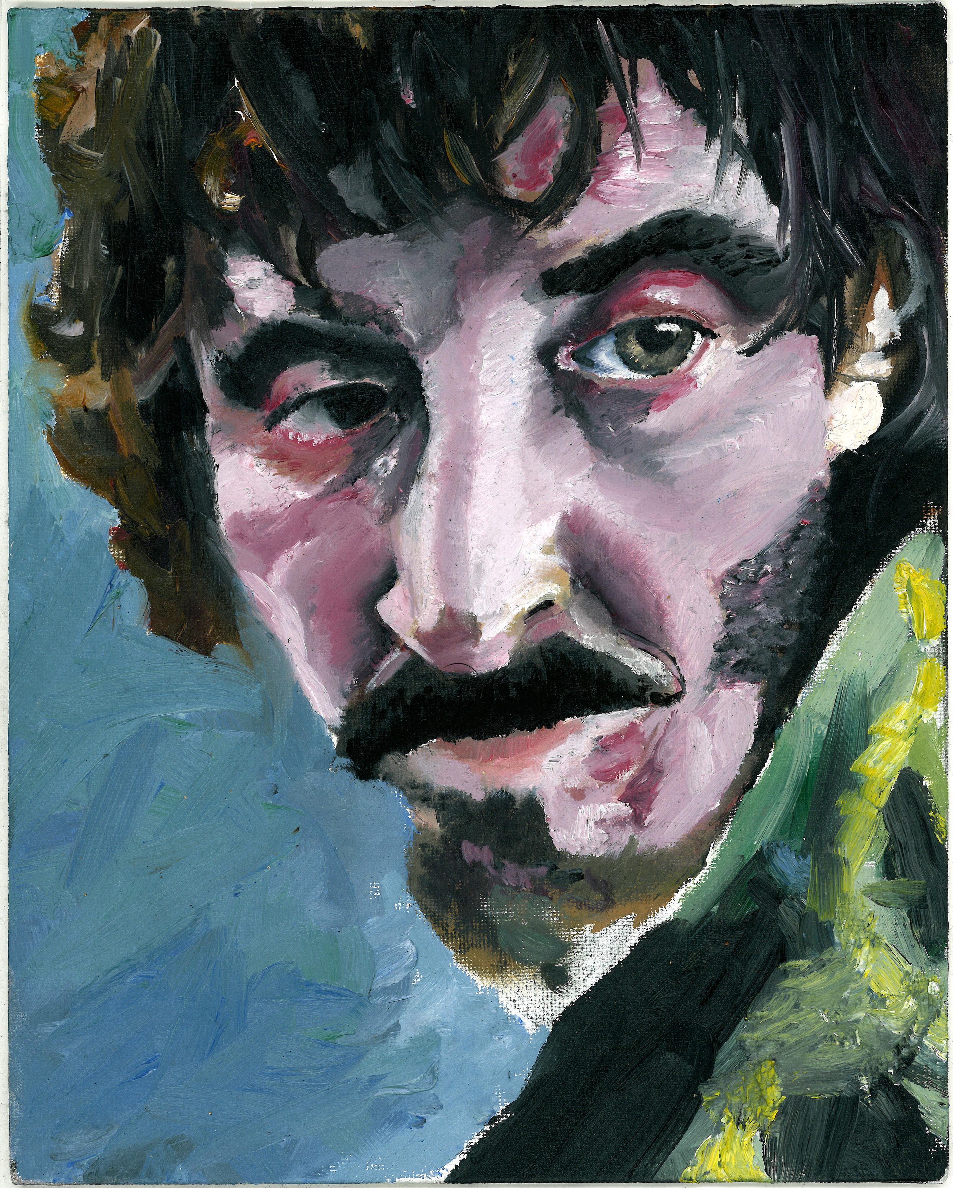 """Oil Portrait Study of Ivan Massagué in """"The Platform"""""""