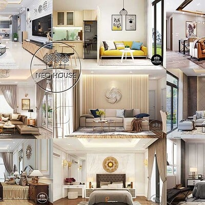 Neohouse architecture cong ty thiet ke noi that neohouse jsc