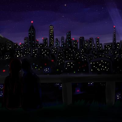 Kristen lum random city skyline
