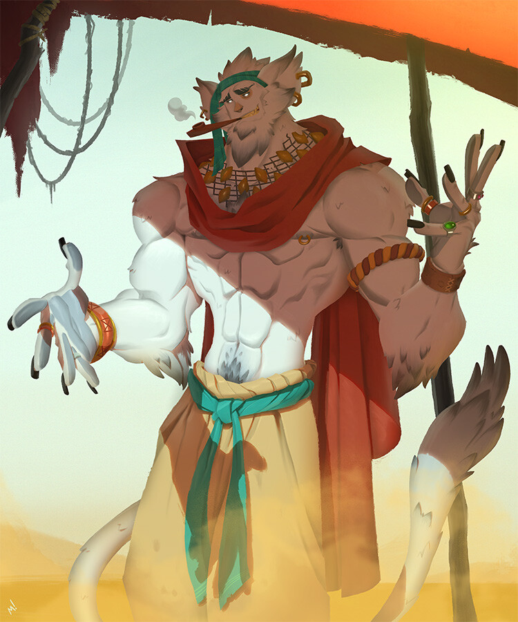 """""""I can't get you ALL the way to Risperia. We're in the center of the goddamn desert! But, if you throw in that weird trinket you're carrying, I feel like it'll suddenly be doable. Something, something the winds changing, sands shifting, etcetera..."""""""