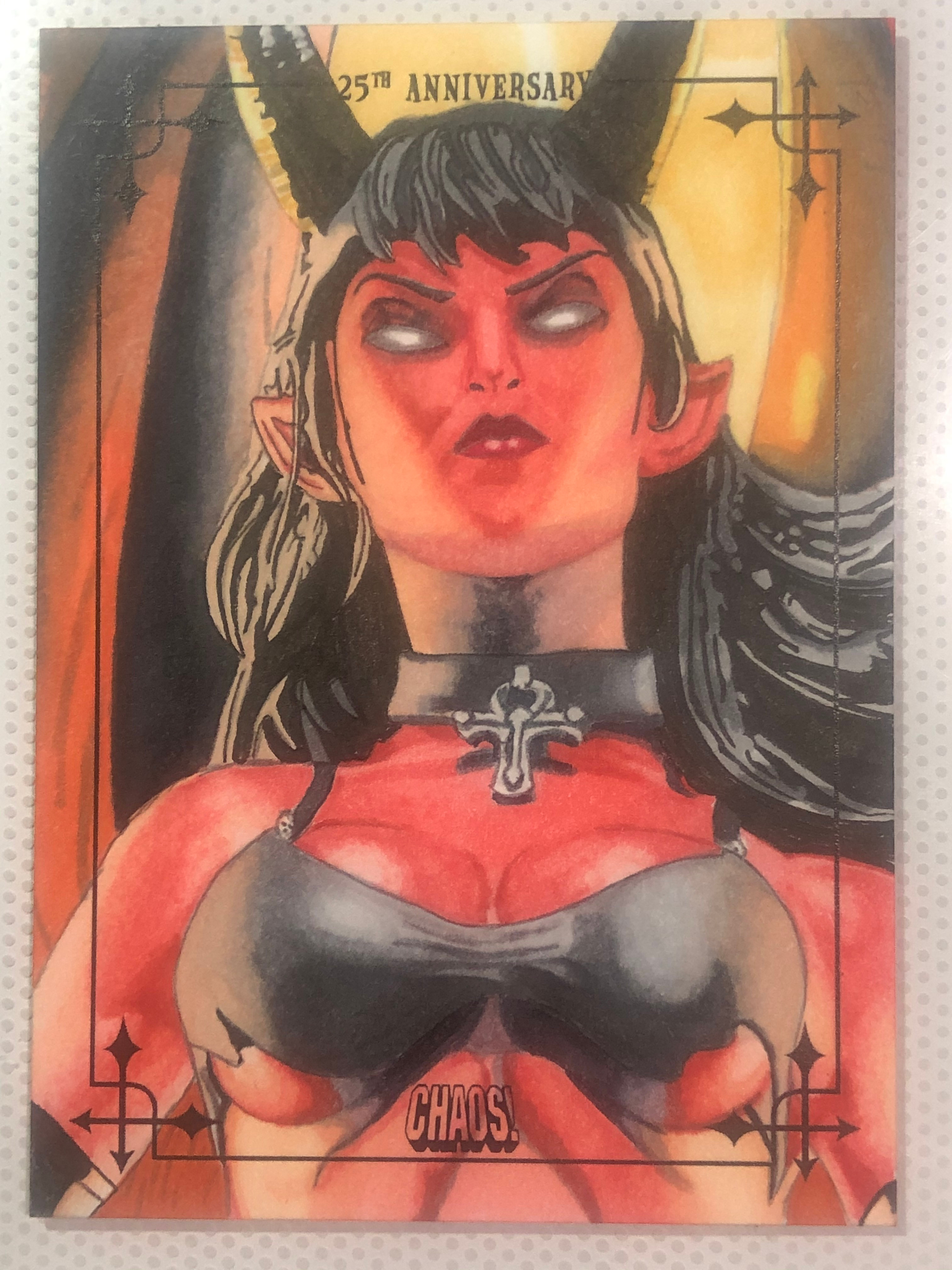 Official trading card commission