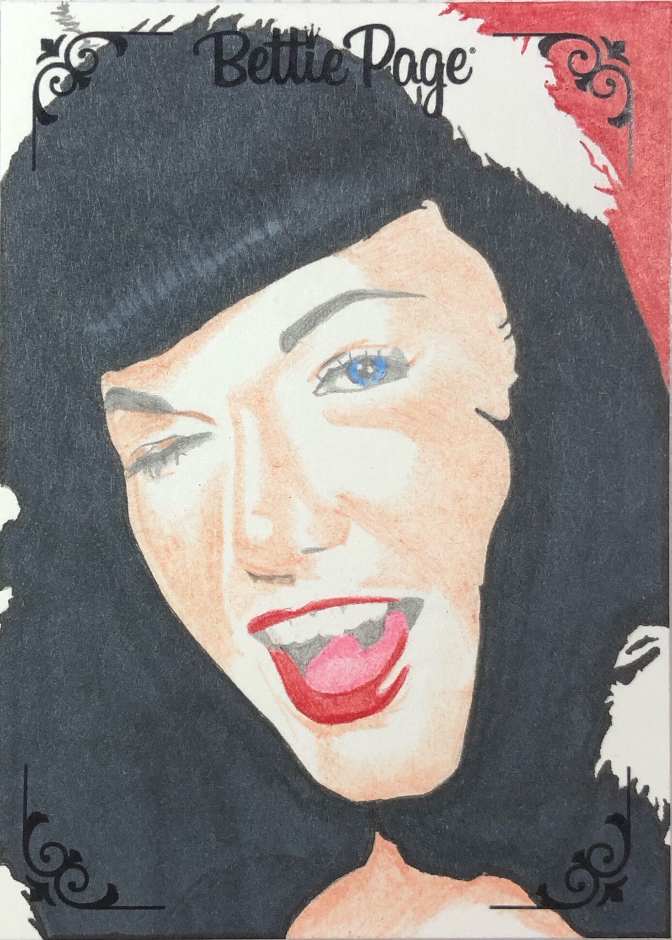 Dynamite Entertainment Officially licensed Bettie Page trading cards