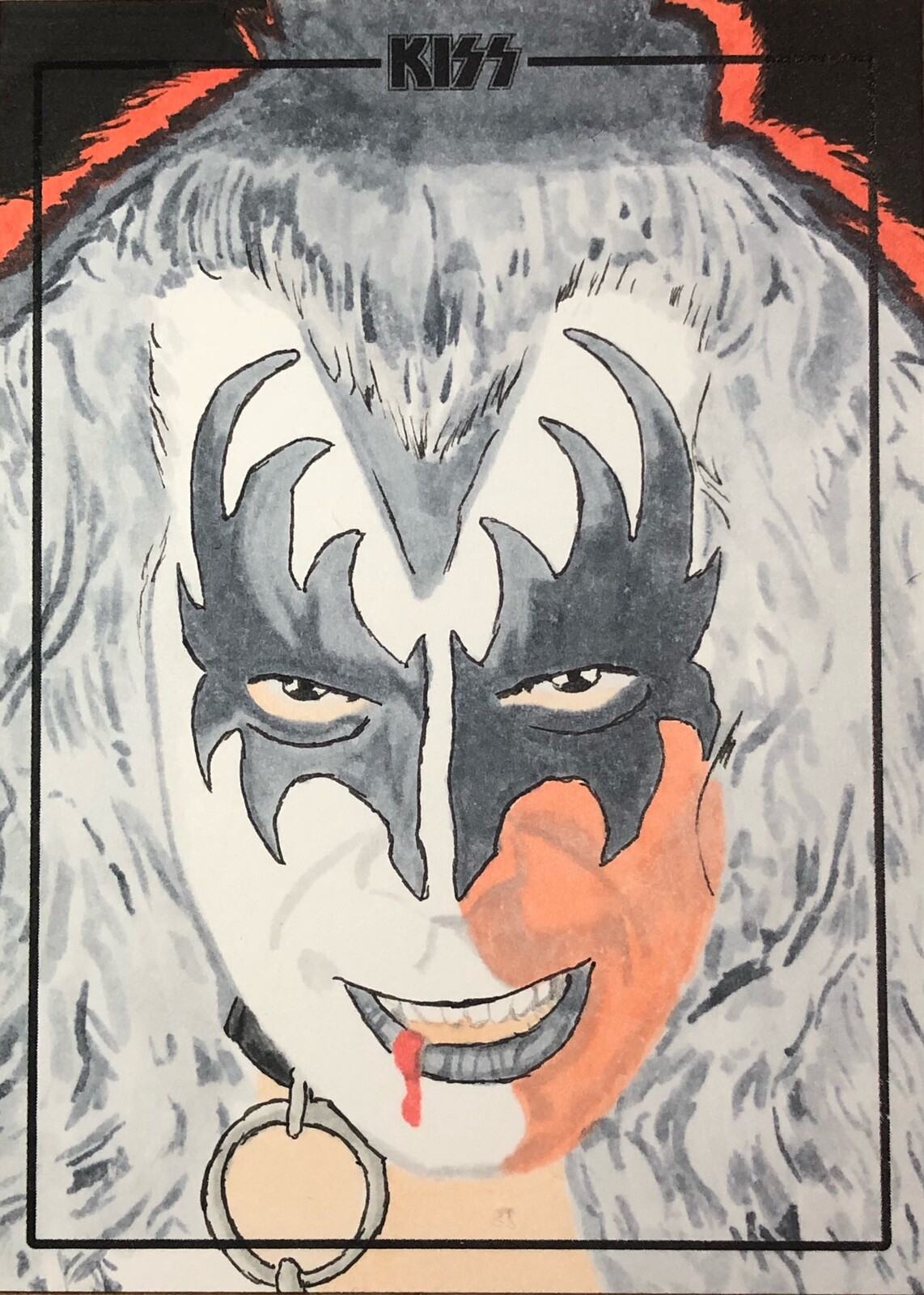 Dynamite Entertainment Officially Licensed KISS trading card art cards