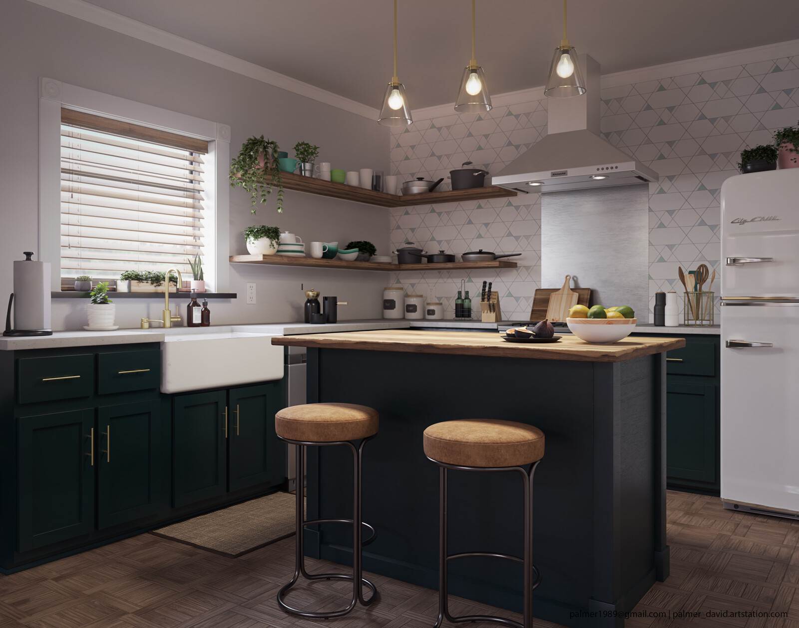 Boho Studio | Kitchen