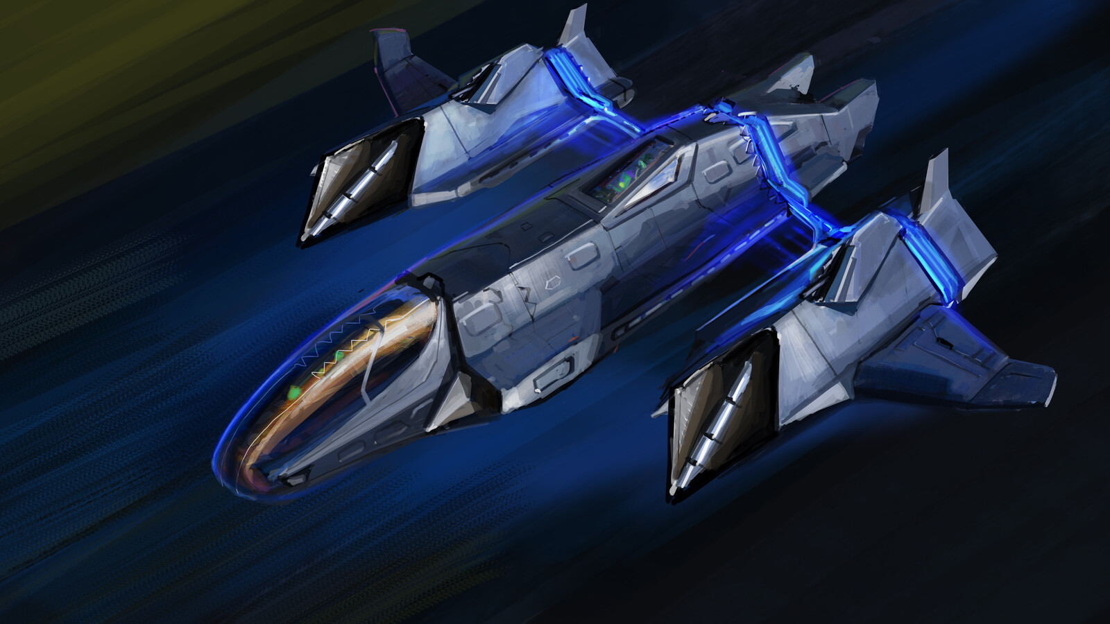 Doublecross - class fighter in battle mod