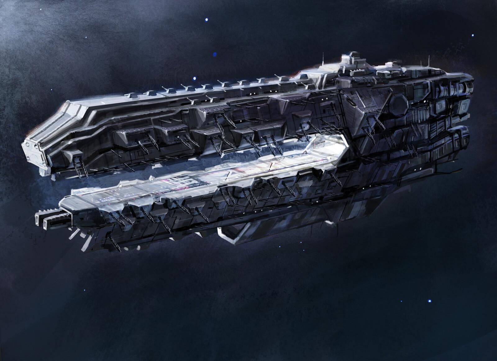 Venture- class battleship