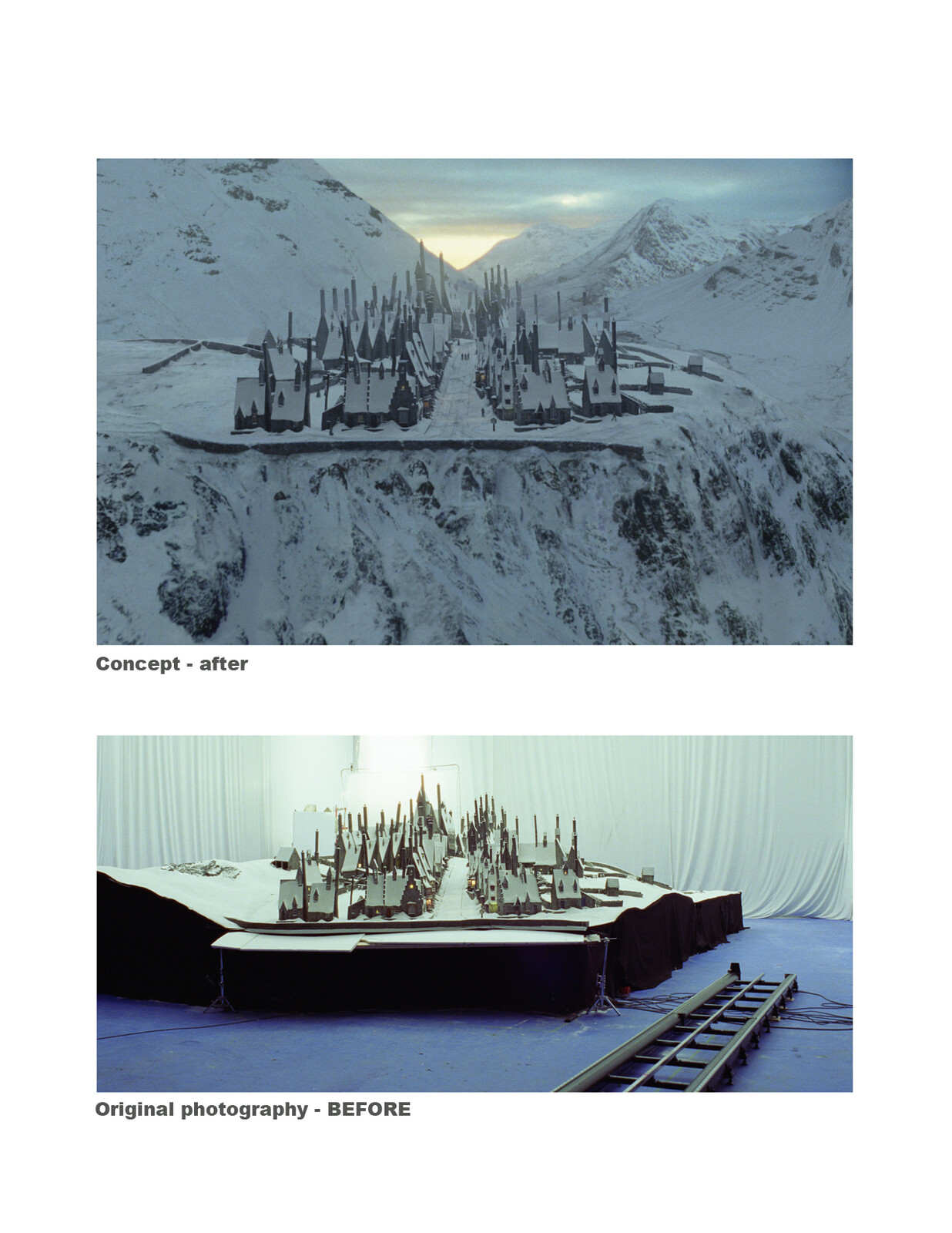 Harry Potter before after 2,5d shot
