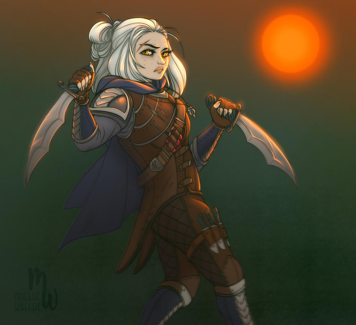 Witcher lass - School of the Viper (original character)