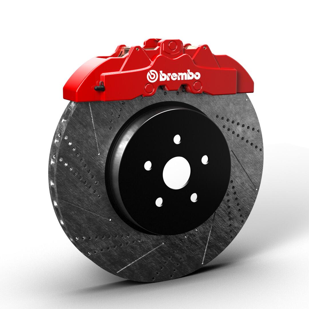 Brembo Brake PNG Format