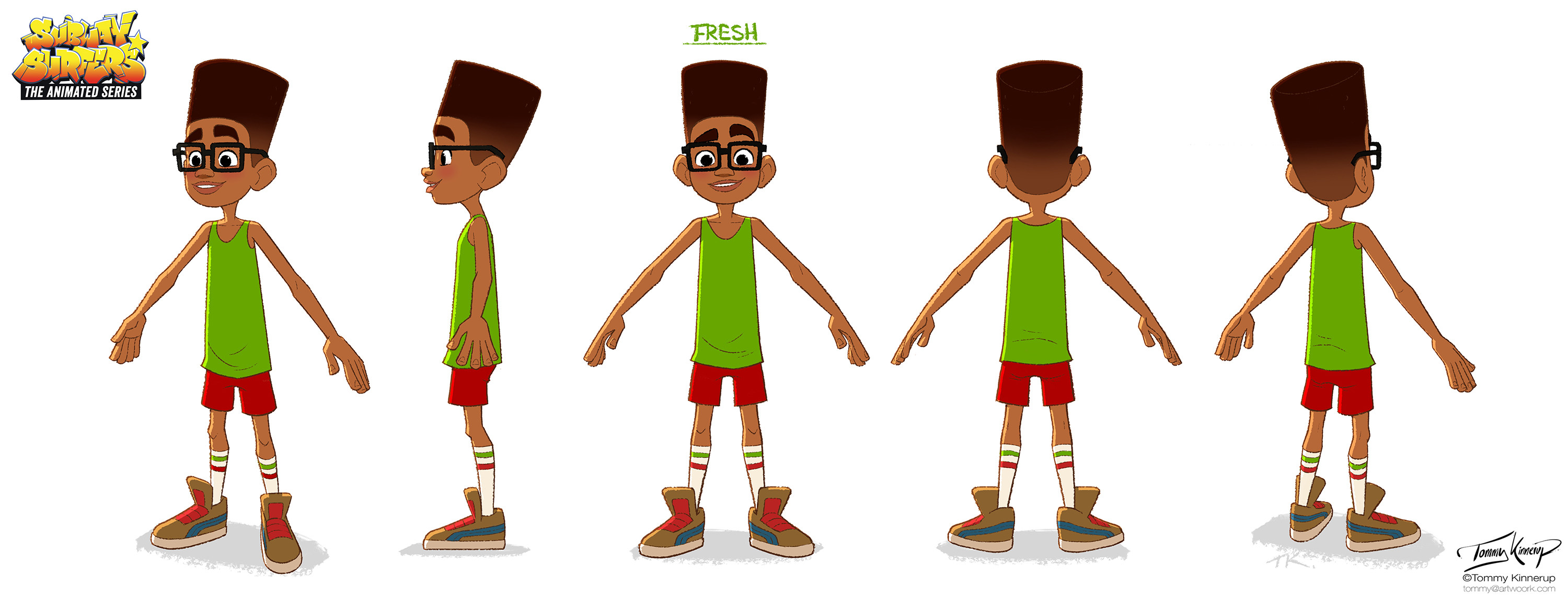 Fresh's orthographic views