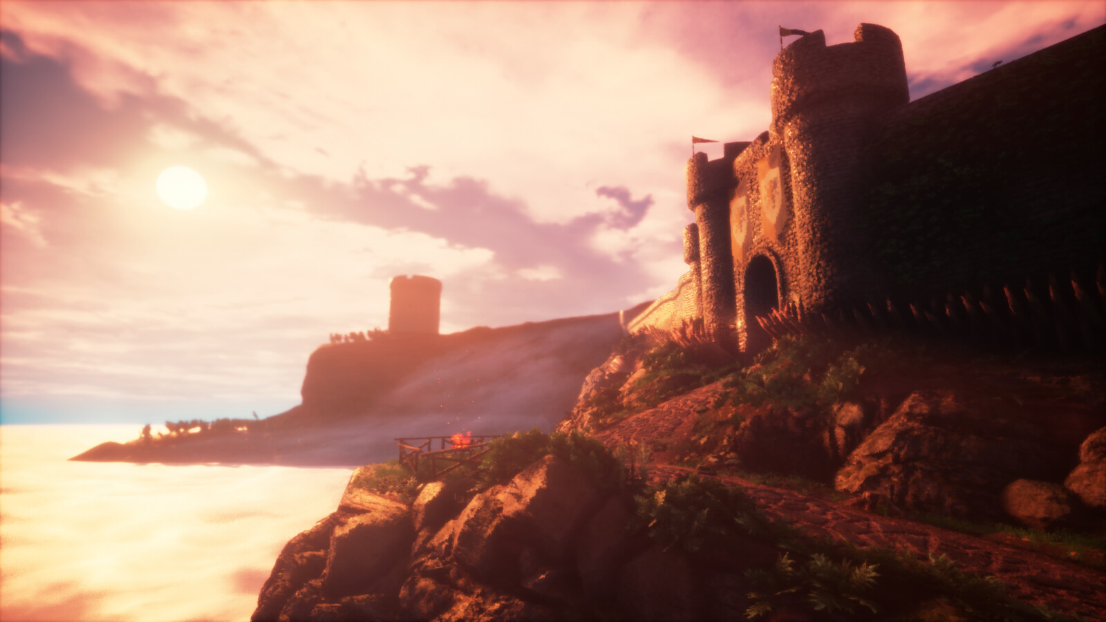Castle In The Clouds - UE4 Stylized Environment & Technical Art