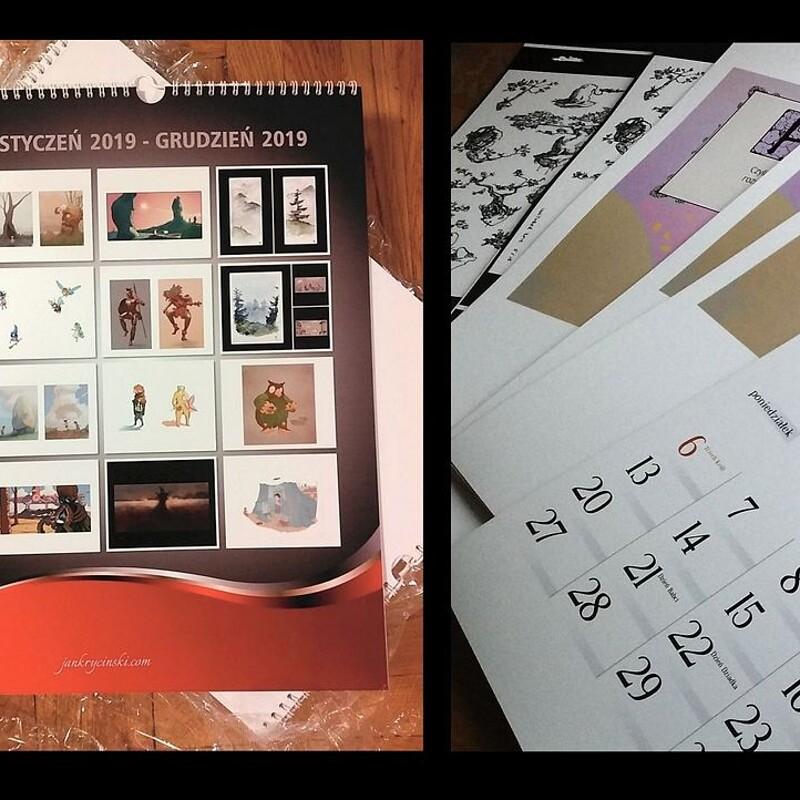Calendar 2021 / Kalendarz 2021