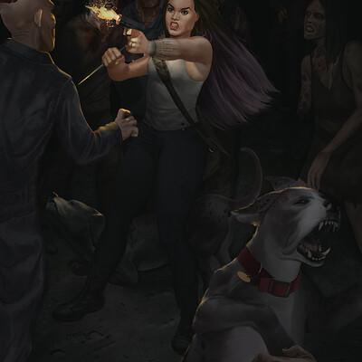 Dion harris wife battle 2