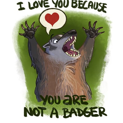 Tony etienne 20200815 you are not a badger 001
