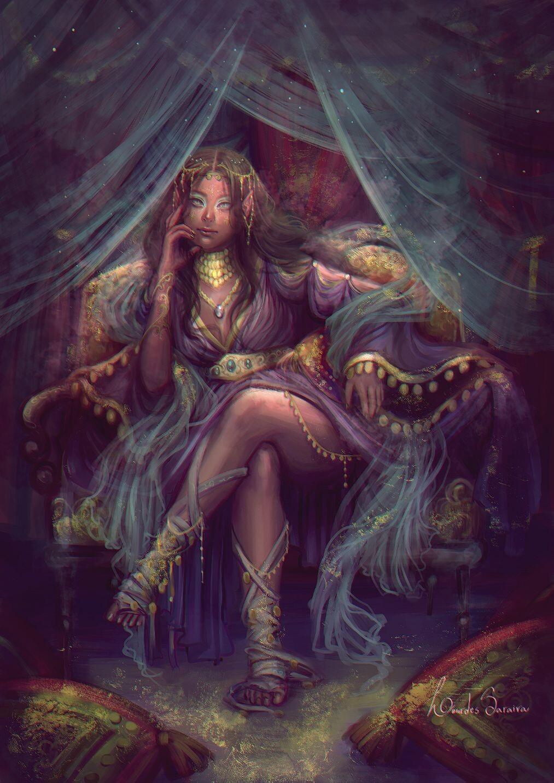 Character Design - Elf Queen