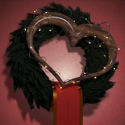 Georg kronthaler door wreath