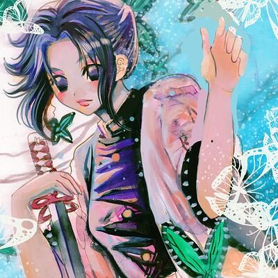 demon slayers shinobu Kocho