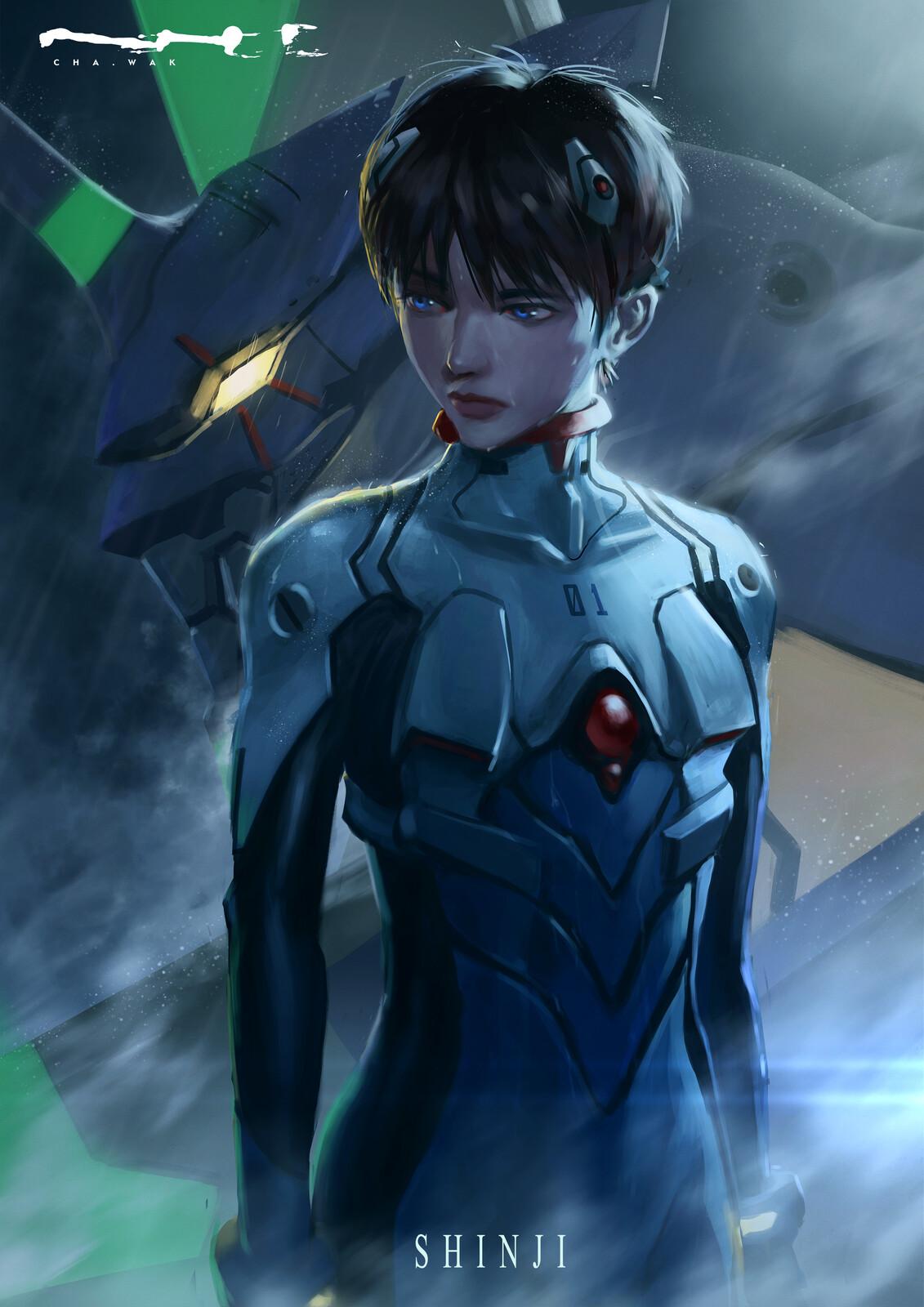 01 Shinji Ikari
