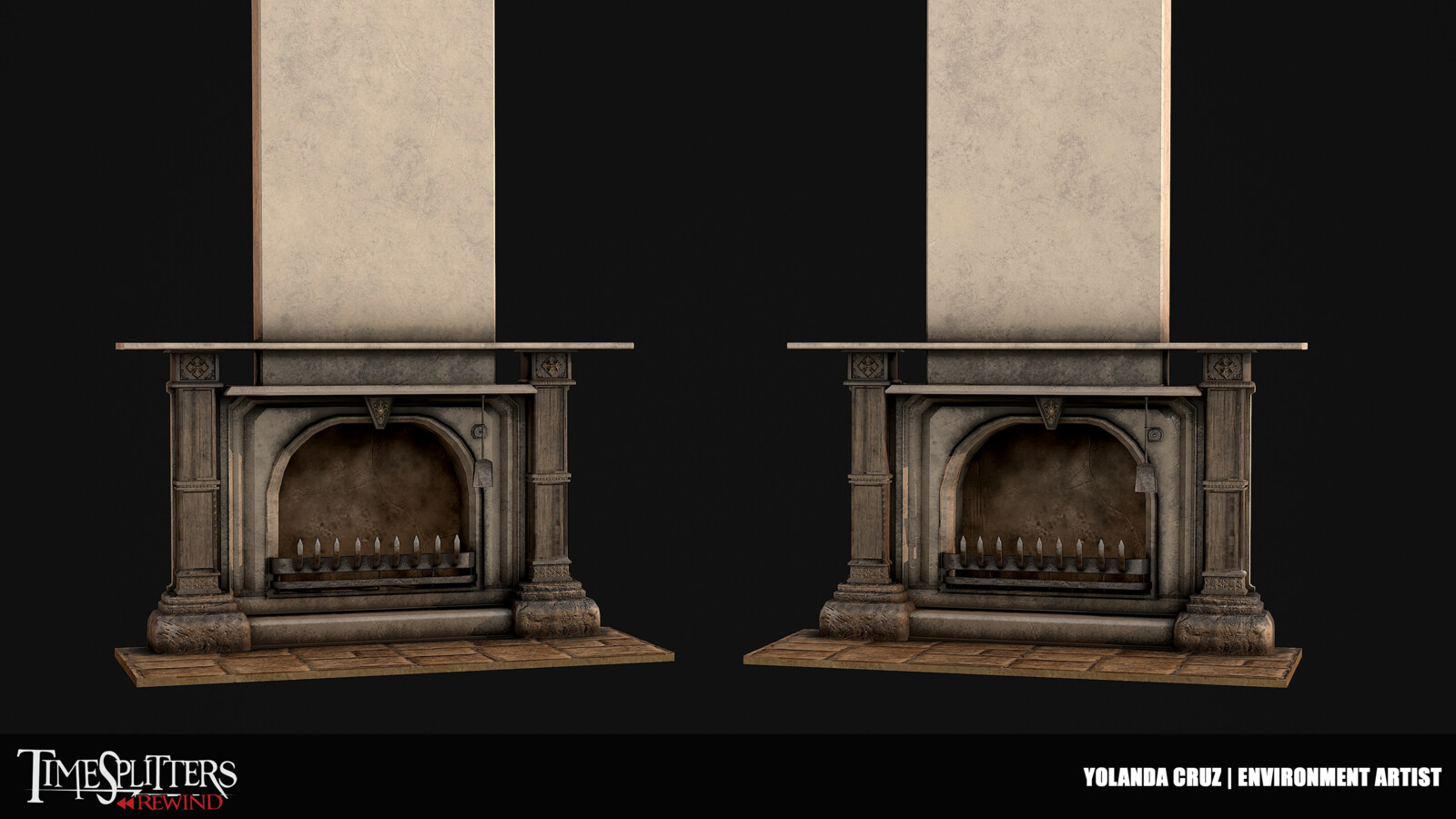 Mansion Fireplace
