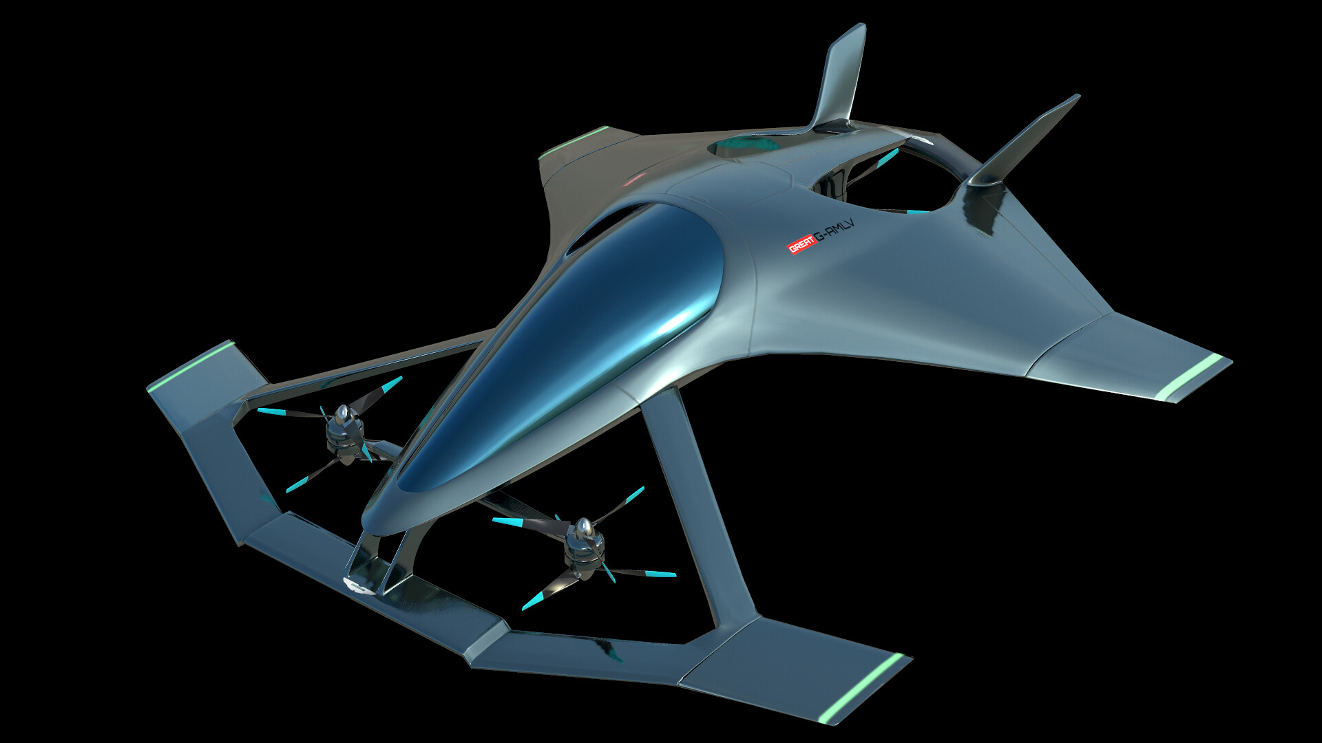 Paul Omelchenko Aston Martin Volante Vision Concept