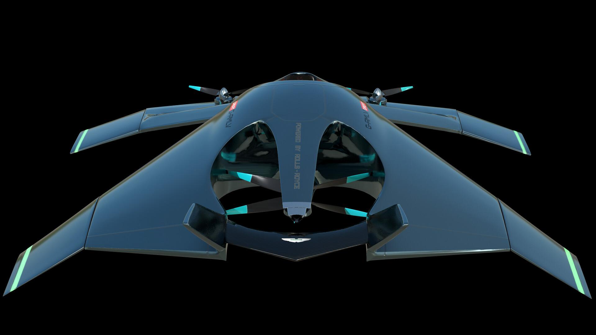 Artstation Aston Martin Volante Vision Concept Paul Omelchenko