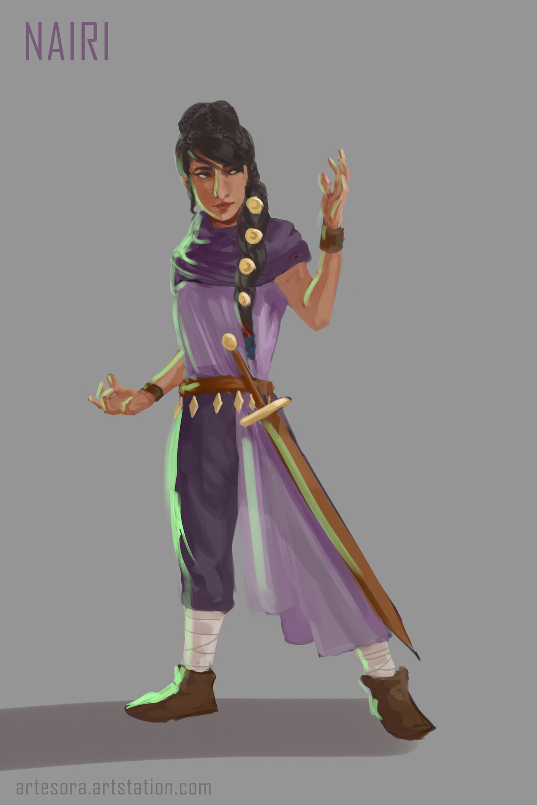 Ruination: Character Concepts 1
