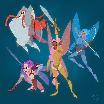 Chris ables fairy warriors