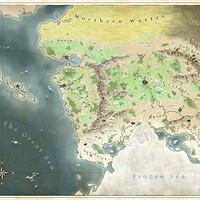 Artstation Hyrule Map Breath Of The Wild James Nalepa