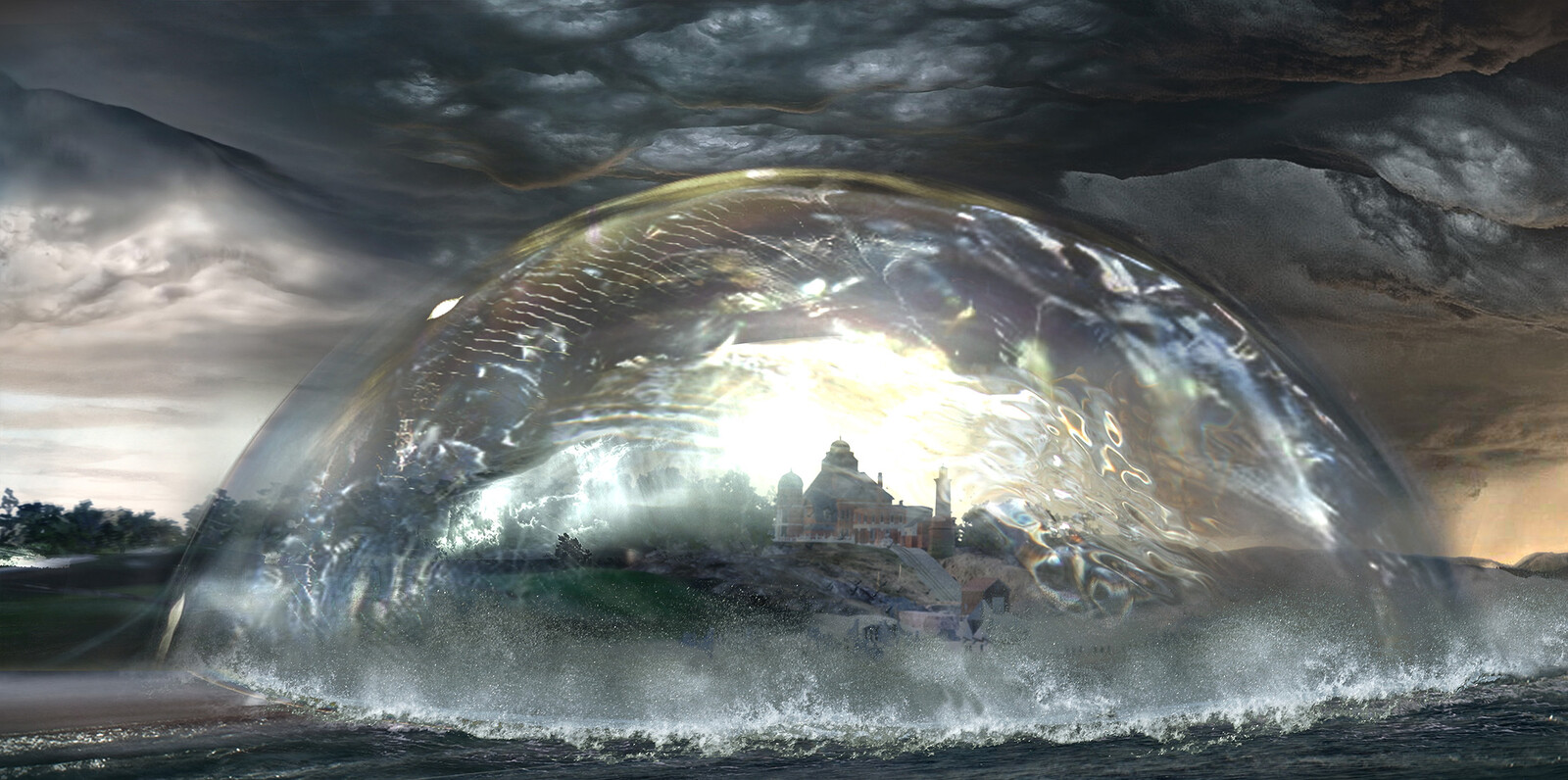 VFX concepts done for Artemis Fowl