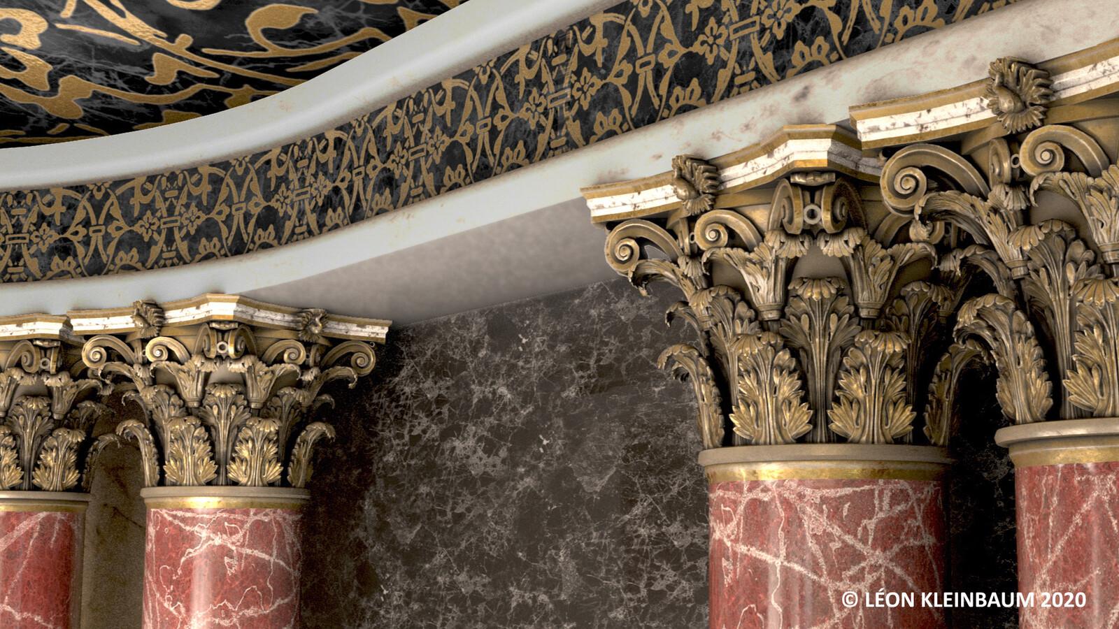 Baroque Collumns