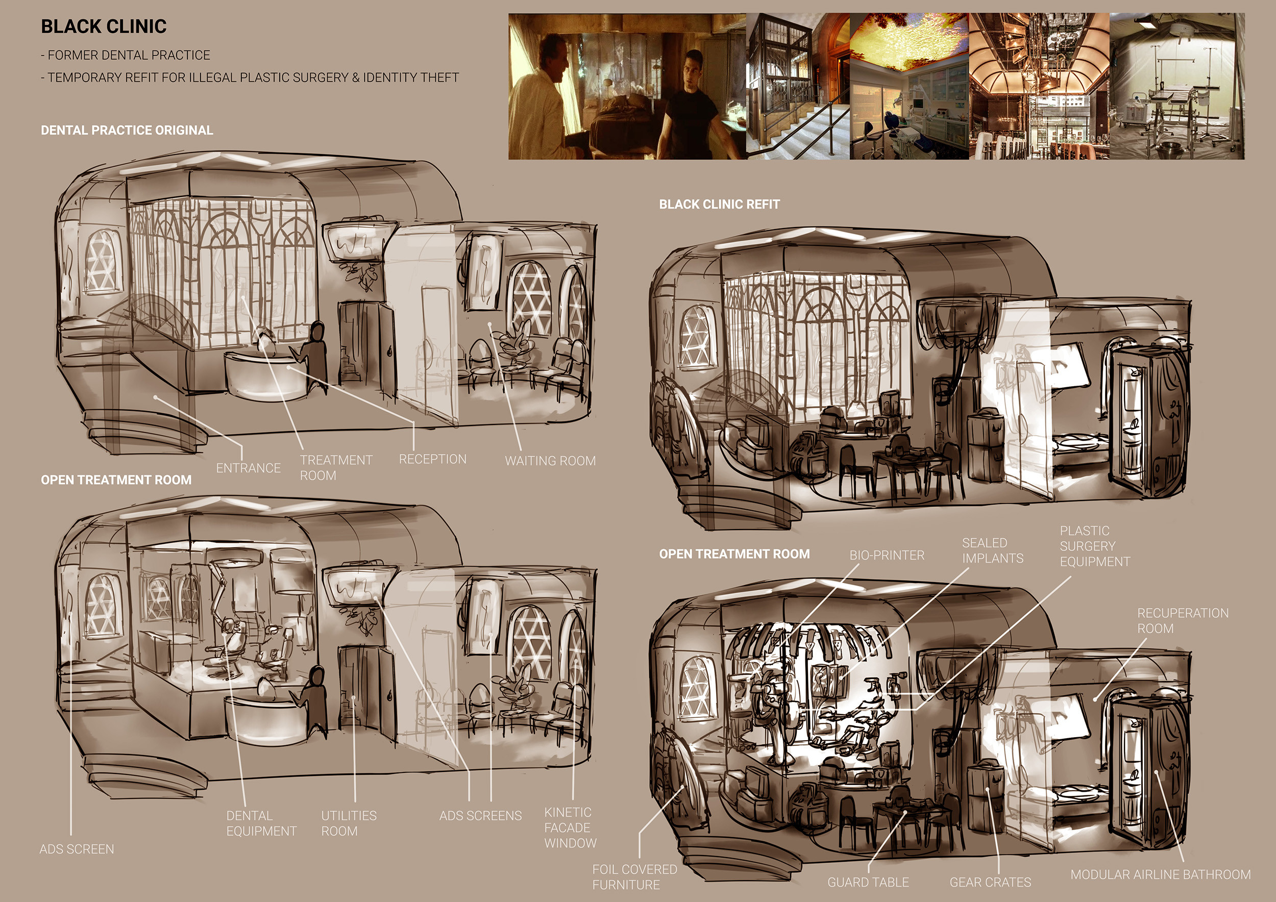 Room sketches