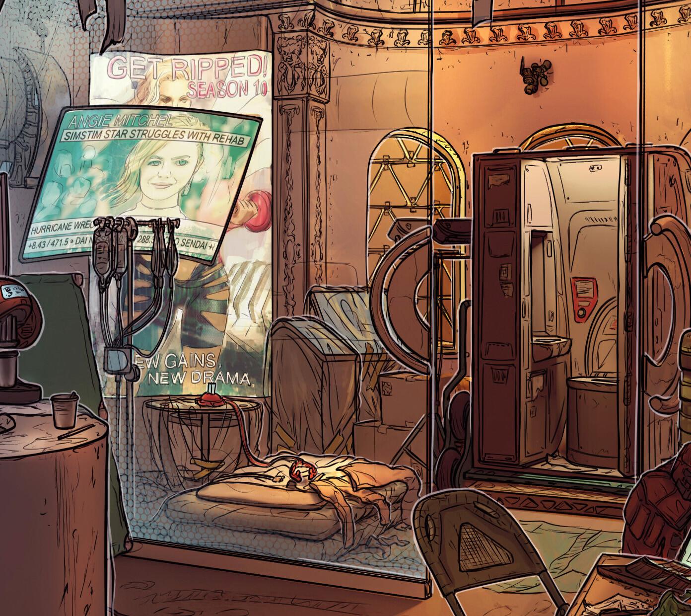 Details: Mona's room