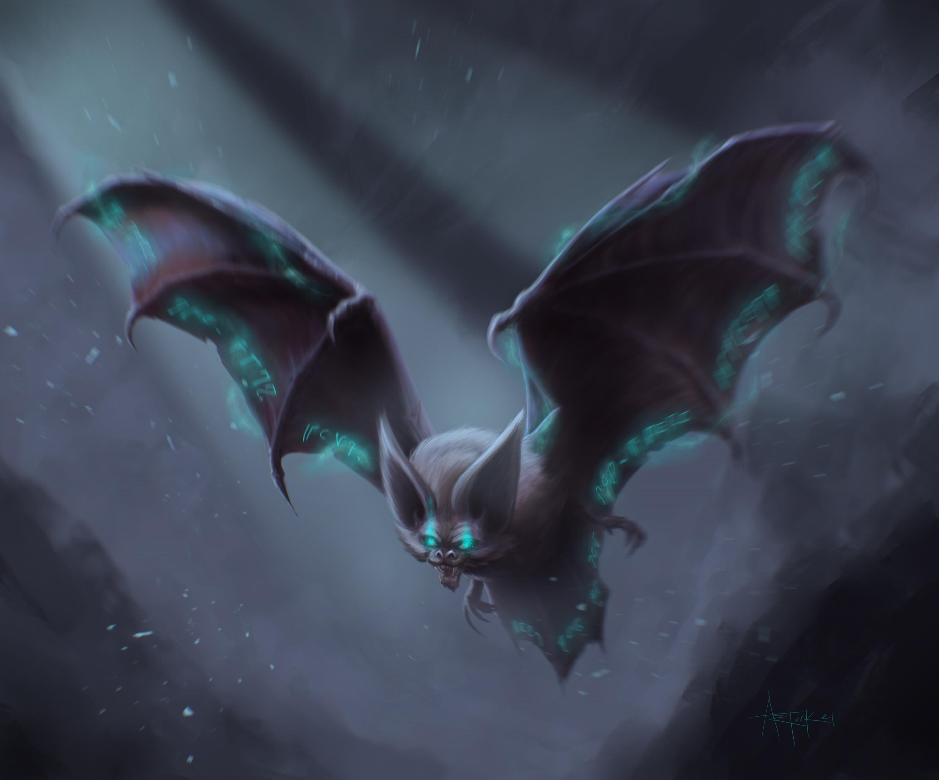 The dark version of a druid spirit animal.